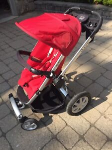 Quinny buzz 4 stroller Red
