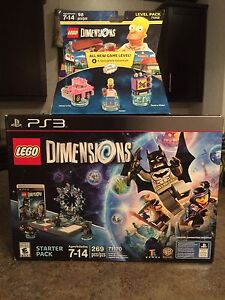 Lego Dimensions w/ Simpsons Level Pack