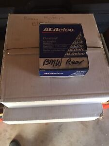 E46 Rear brake pads and routers