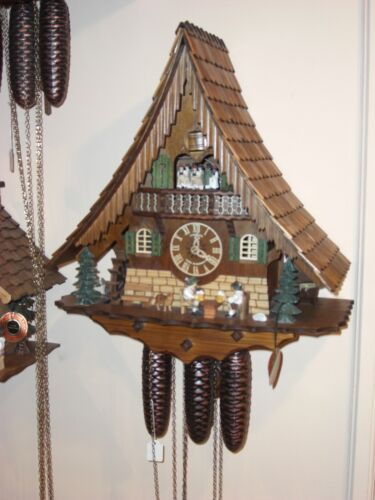 Hand Made Cuckoo Clock From Rothenburg Germany - 01/37