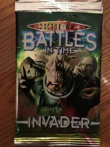 Doctor Who-Battles In Time/Invader card collecting set