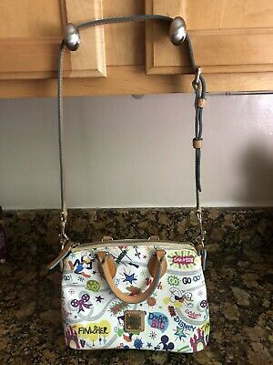 Disney Dooney & Bourke 2014 Disneyland Half Marathon Small Satchel Used