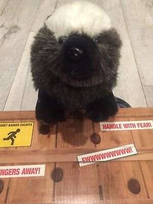 """14"""" Talking Honey Badger Don't Care Doll - Adult Version *R-Rated*"""