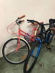 2 adult size bikes (1 man, 1 woman) can also be sold separately