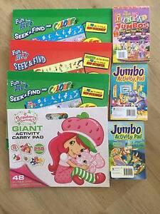 4 CHILDREN'S ACTIVITY BOOKS Greenbank Logan Area Preview