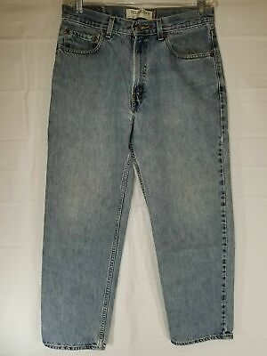Men's Levis Strauss 550 Relaxed Fit Blue Denim Jeans 33x30