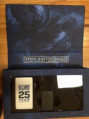 Blizzard Employee 2016 Holiday Gift - Exclusive Power Supply Recharger Bank! NIB