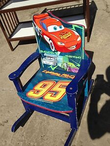 Cars rocking chair