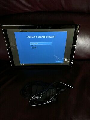 Microsoft Surface Pro 5 (2017) i5 128GB 4GB RAM Wi-Fi - Silver