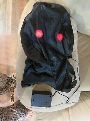 Adult Light Up Red Glaring Eyes Grim Reaper Costume Size Standard Robe Mask Belt
