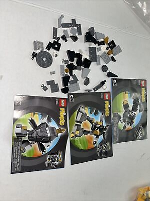 Lego Mixels Krader 41503 41504 41505 Unsure How many Pieces. Not Complete