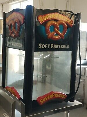 Super Pretzel Soft Pretzel Machine Model 850c Warmer Display