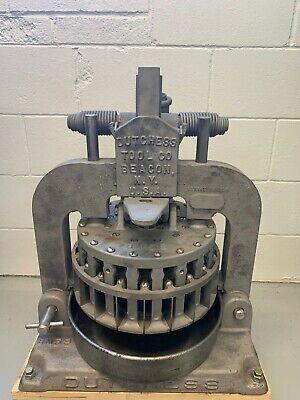 Dutchess Manual Dough Divider Of Beacon Ny - Vintage Bakery Equipment