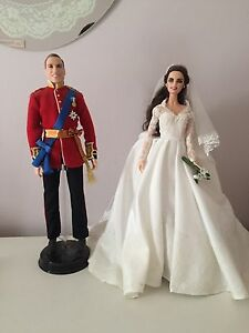William & Kate Collector Dolls