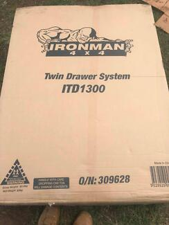 Brand New Ironman Twin Drawers + Wing Kit suit 2011-15 SR Hilux