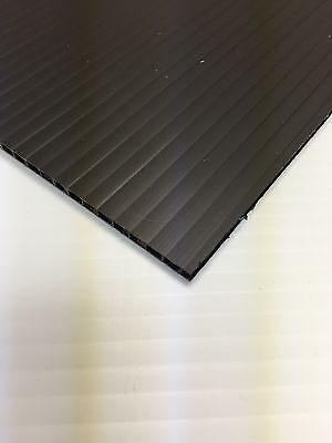 4mm Black 24 X 48 4 Pack Corrugated Plastic Coroplast Sheets Sign