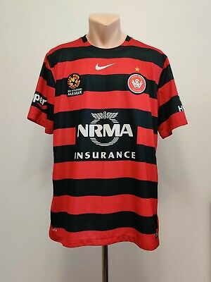 Football shirt soccer Western Sydney Wanderers Home 2015/2016 jersey Australia image