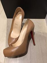 Authentic Christian Louboutin pumps in light brown colour size 38.5 Epping Whittlesea Area Preview