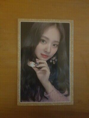 TWICE FEEL SPECIAL - Tyuzu Photocard (Gold Border) Gold Border Photo Card