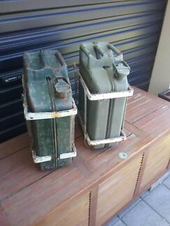 Metal Jerry Cans & Holders Northfield Port Adelaide Area Preview