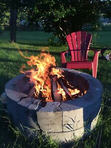 Seasoned Dry Campfire Pine Firewood Huge Bags $25 Call Now !!