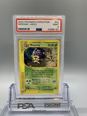 Weezing Holo - Pokemon Expedition Set - PSA 9 - MINT - Low Pop (52)
