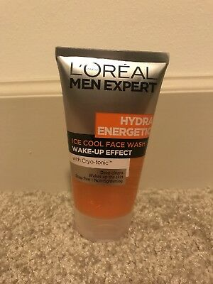 L'Oreal Men Expert Hydra Energetic Ice Cool Face Wash with Cryo-Tonic 150ml