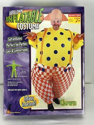 Gemmy Inflatable Halloween Costumes (Gemmy Halloween Airblown Inflatable Costume One Size Clown)