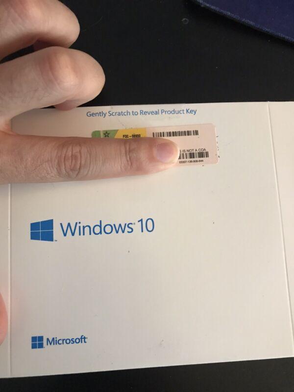 Windows 10 Pro Disk DVD CD
