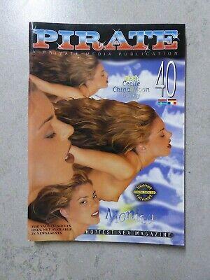 vintage glamour magazine pirate No.40