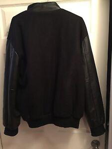 Men's XL Melton Leather Jacket - Great condition