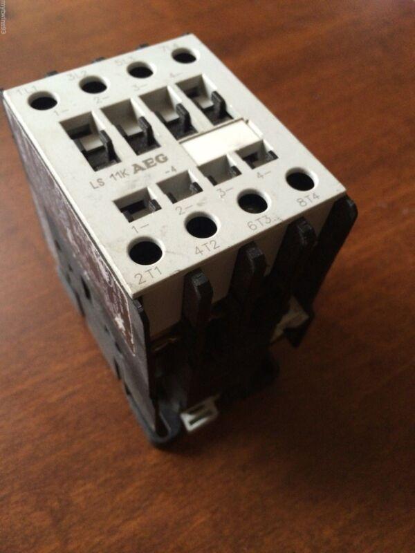AEG LS11K-40L-A 4 Poles Contactor 30 Amp LS11K-4 LB3A4