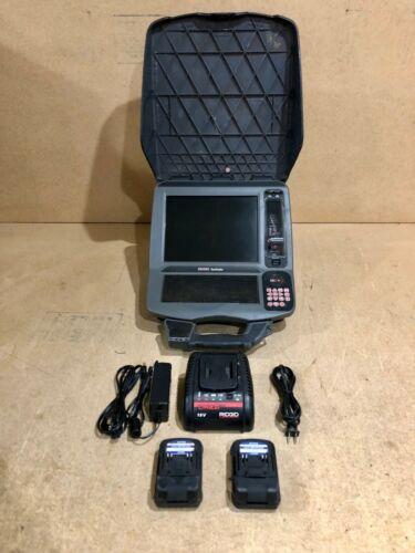 RIDGID 57288 CS12X SEESNAKE DIGITAL RECORDING MONITOR WITH WI-FI