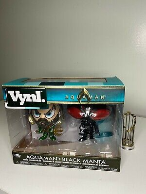 Vynl. Aquaman + Black Manta Vinyl Collectible Figures by Funko