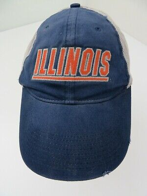 Fighting Illini Illinois Nike Fitted L/XL Adult Baseball Ball Cap Hat