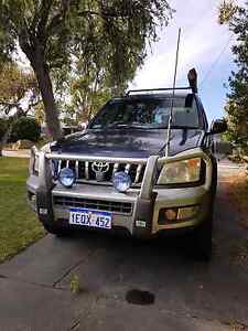 Toyota Prado 2003 with free 4wd accessories Hamersley Stirling Area Preview
