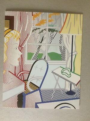 ROY LICHTENSTEIN, private view invitation card, Anthony D'Offay gallery, 1997