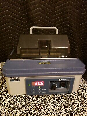 Fisher Scientific Isotemp 202s Shallow 2liter Water Bath 100c Working Great 120v