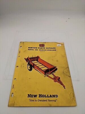 New Holland Service Parts Catalog 300 Manure Spreader 5-55