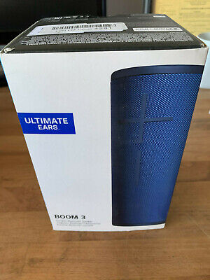 Ultimate Ears Boom 3 Portable Waterproof Bluetooth Speaker - Lagoon Blue  for sale  Shipping to India