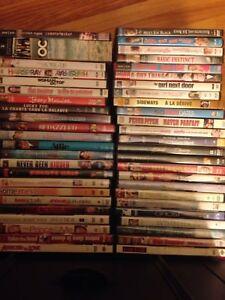 48 DVD movies & season 3 OC $40 OR BEST OFFER