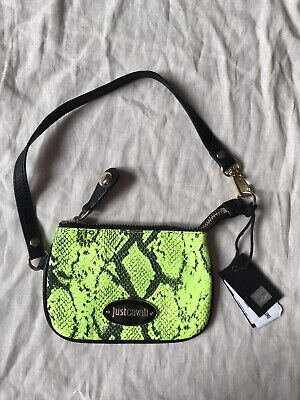 Just Cavalli Bag Snake Print Brand New Authentic with Tags