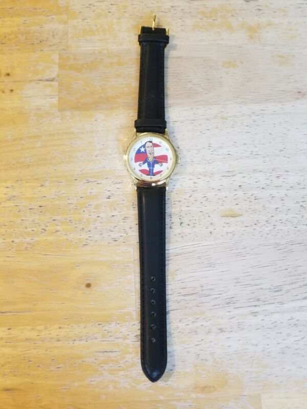 Al Gore Backwards Watch never used Wristwatch with black band
