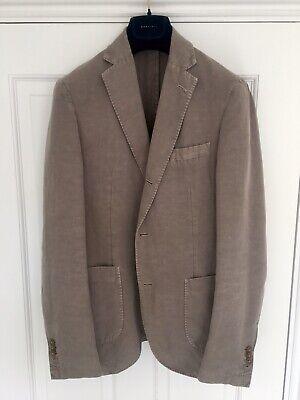 Slowear Montedoro Garment Dye Chinolino Blazer Jacket Incotex 46 36 Cotton Linen
