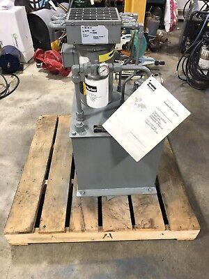 Parker V-pak V14ks3pak010. 3 Hp Hydraulic Power Unit 1000 Psi. New