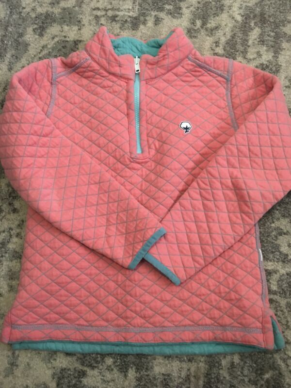 Southern Shirt Girls Reversible Pullover Size S 7/8
