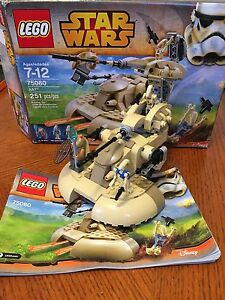Retired Lego Star Wars 75080 Complete Set 35.00