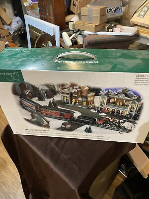 (New In Box) Dept 56 VILLAGE EXPRESS ELECTRIC TRAIN SET #52710