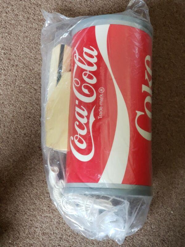 RARE Vintage Paul Nelson Coca Cola Push Button Telephone Coke Can