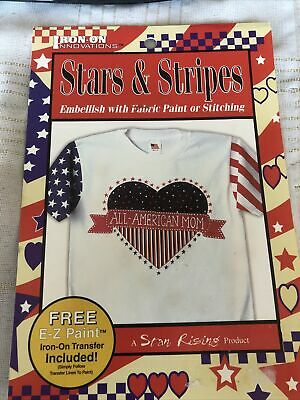 Iron-on Innovations Stars & Stripes 'All-American  Mom' Iron